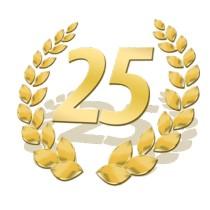 25 jähriges Jubiläum